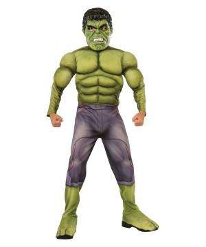 Boys Hulk Costume deluxe