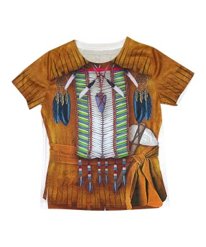 3d Indian Boys Costume Shirt