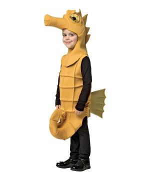 Boys Yellow Seahorse Costume