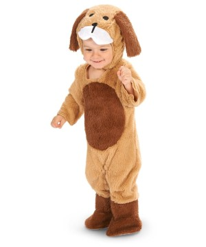 Brown Puppy Toddler Boys Costume