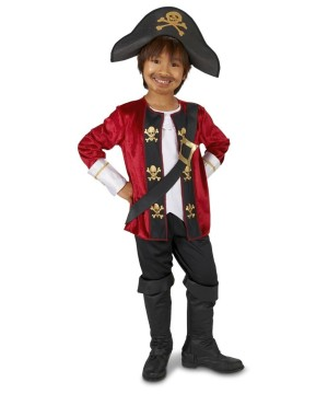 Captain of the Seven Seas Toddler Boys Costume