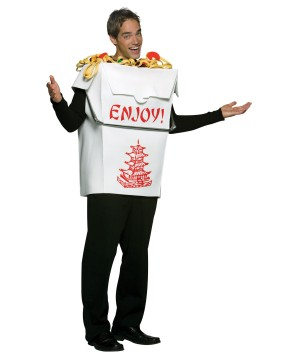 Chinese Take Out Mens Costume