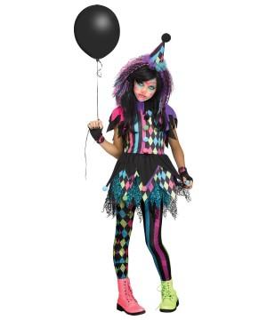 Circus Clown Girl Costume