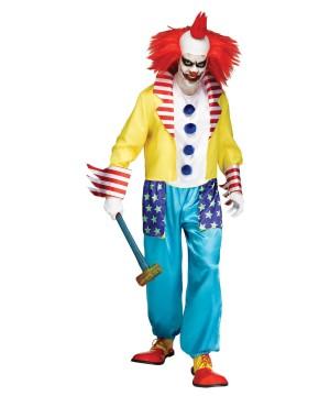 Clown Men Costume