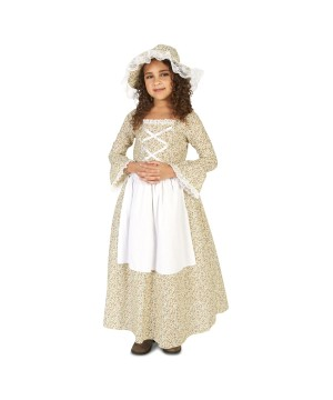 Colonial Girls Costume