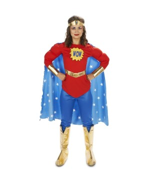 Comic Wow Super Woman Costume