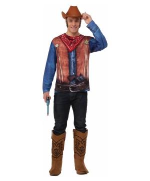 3d Cowboy Men Shirt