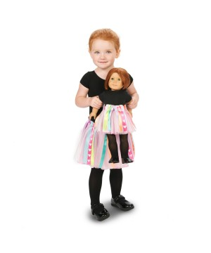 Customizable Doll Tutu