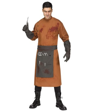 Demented Doctor Men Costume