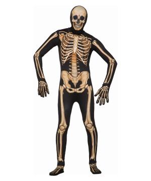 Disappearing Skeleton Men Costume