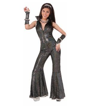 Disco Jumpsuit Women Costume