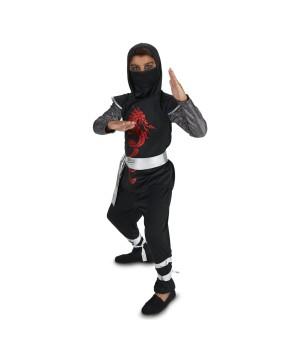 Dragon Ninja Boys Costume