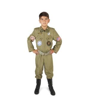 Boys Fighter Pilot Costume
