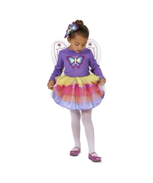 Fluttery Butterfly Toddler Girls Costume