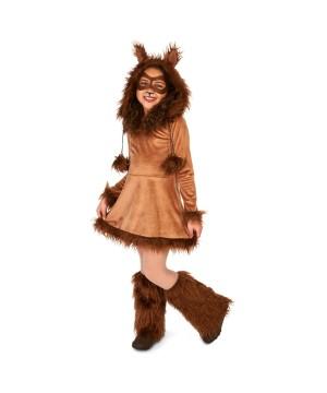 Furry Fox Girls Costume