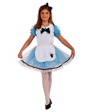 Girls Alice in Wonderland Costume