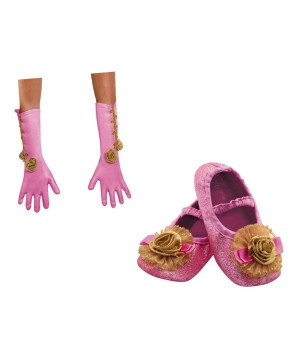 Aurora Shoes and Gloves Toddler Girls Costume Kit
