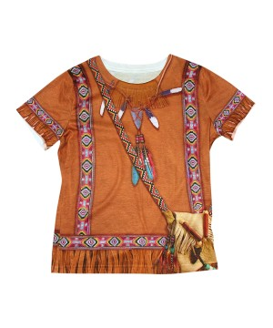 Indian 3d Girls Costume Shirt