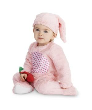 Girls Infant Pink Bunny Costume