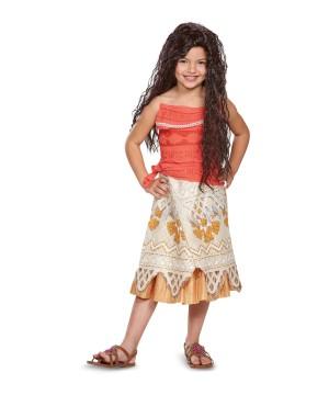 Moana Girls Costume