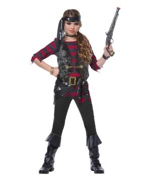 Renegade Pirate Girls Costume