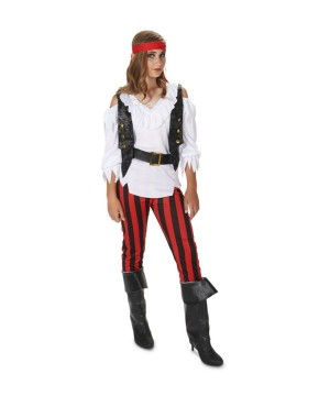 Girls Rebel Pirate Costume