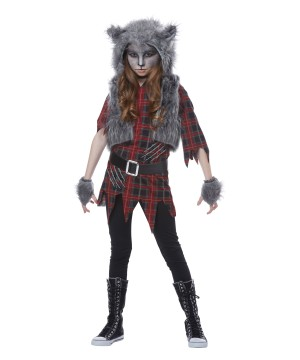 werewolf girls costume - Wolf Halloween Costume Kids