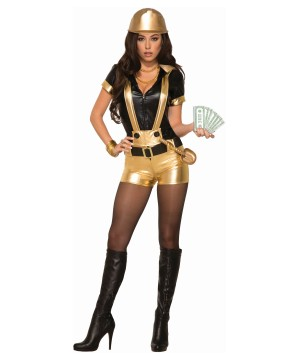 Gold Digger Women Costume