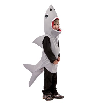 Gray Shark Baby Boys Costume