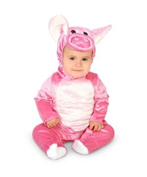 Infant Girls Cuddly Piglet Costume