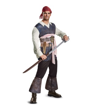 Dead Men Tell No Tales Jack Sparrow Men Costume