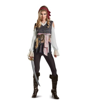 Dead Men Tell No Tales Jack Sparrow Women Costume