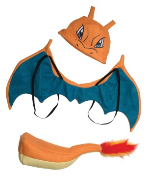 Kids Charizard Accessory Set