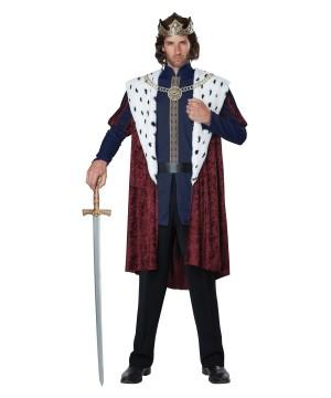 Royal King Men Costume