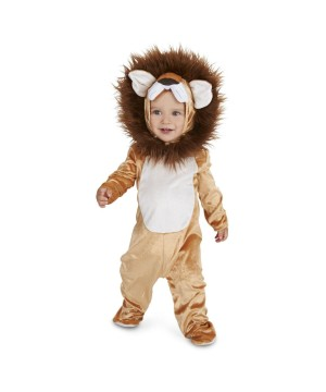 King of the Jungle Baby Lion Costume