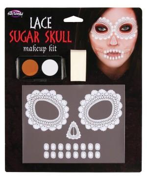 Lace Skull Makeup Kit