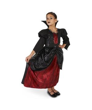 Girls Little Vampire Costume