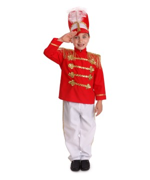 Marching Band Drum Major Boys Costume