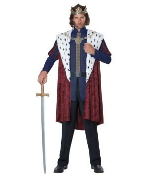 Medieval Story King Mens Costume