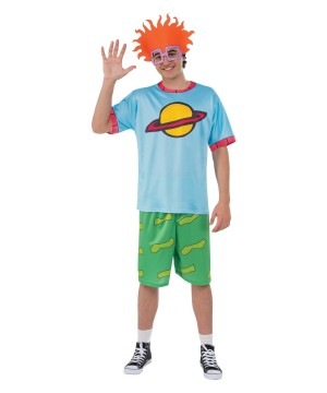 Men Rugrats Chuckie Costume