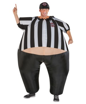Mens Inflatable Referee Costume
