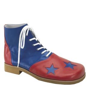 Mens Star Toe Clown Shoes