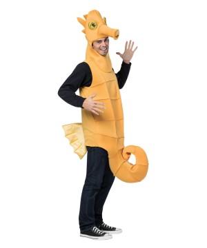Mens Yellow Seahorse Costume