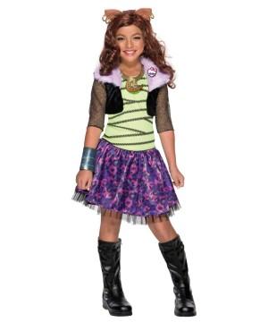 Monster High Clawdeen Wolf Girls Costume