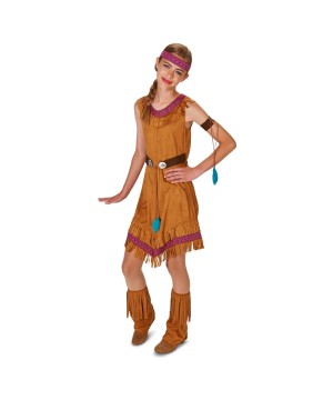 Native American Teen Girls Costume