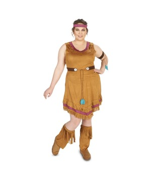 Native American Womens plus Costume