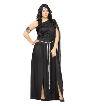 New Moon Dark Goddess plus size Woman Costume