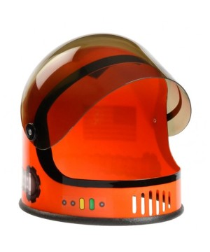 Orange Astronaut Boys Helmet