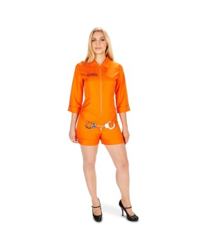 Womens Orange Prisoner Costume