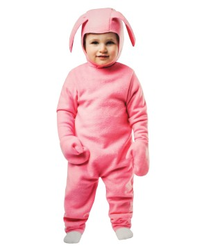 Pink Bunny Suit Toddler Girls Costume